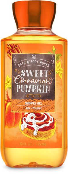 Sweet Cinnamon Pumpkin Shower Gel