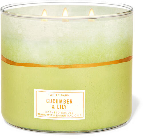 Cucumber & Lily 3-Wick Candle