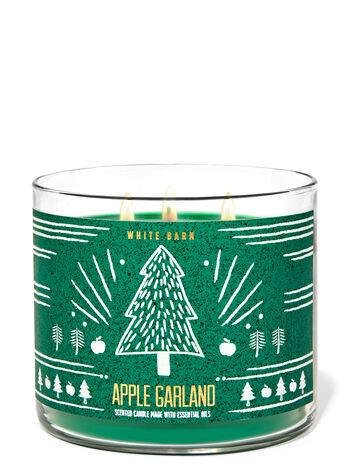 Apple Garland 3-Wick Candle