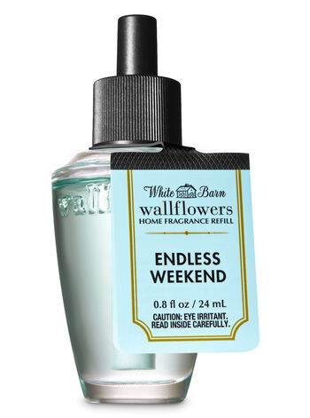 White Barn Endless Weekend Wallflowers Fragrance Refill - Bath And Body Works
