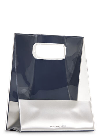 Blue & Silver Gift Bag - Bath And Body Works