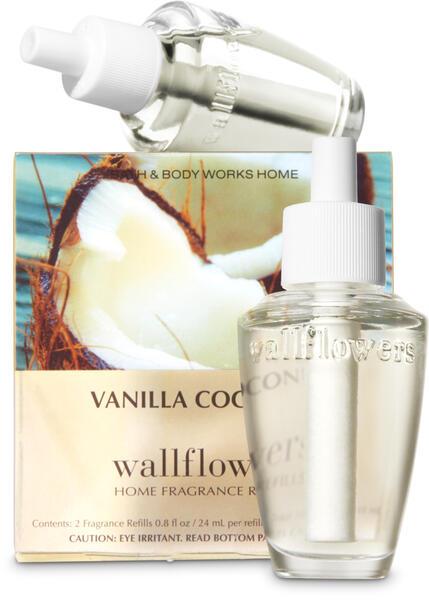 Vanilla Coconut Wallflowers Refills, 2-Pack