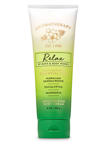 Aromatherapy Hawaiian Sandalwood Eucalyptus Body Cream - Bath And Body Works