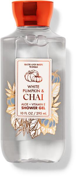 White Pumpkin & Chai Shower Gel