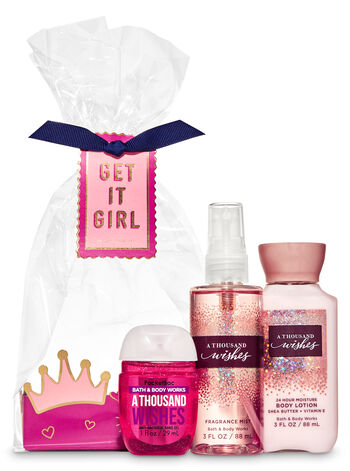 A Thousand Wishes Mini Gift Set - Bath And Body Works