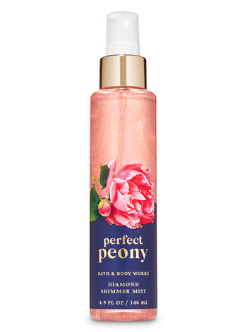Perfect Peony Diamond Shimmer Mist - Bath And Body Works