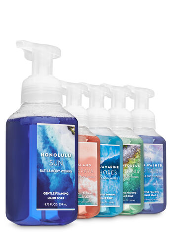 Crystal Cove Gentle Foaming Hand Soap, 5-Pack - Bath And Body Works
