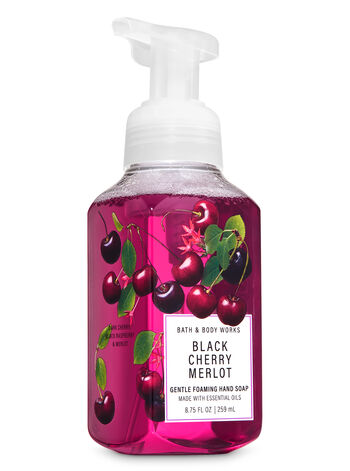 Black Cherry Merlot Gentle Foaming Hand Soap - Bath And Body Works