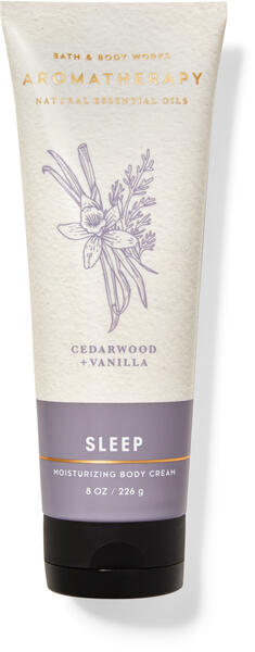 Cedarwood Vanilla Body Cream