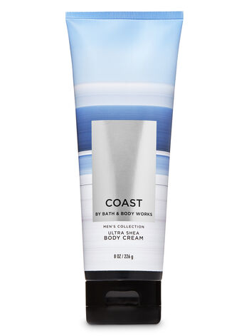 Coast Ultra Shea Body Cream - Bath And Body Works