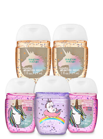 Sugar Coated Unicorns PocketBac Hand Sanitizers, 5-Pack - Bath And Body Works