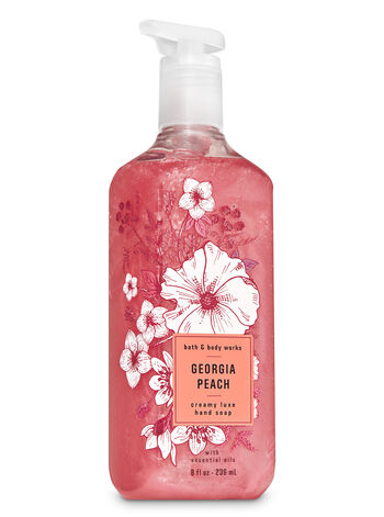 Georgia Peach Creamy Luxe Hand Soap - Bath And Body Works