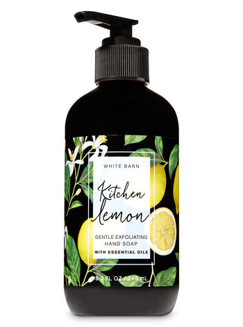Kitchen Lemon Gentle Exfoliating Hand Soap - Bath And Body Works