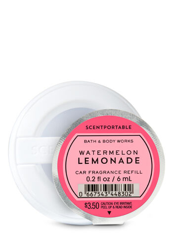 Watermelon Lemonade Car Fragrance Refill - Bath And Body Works