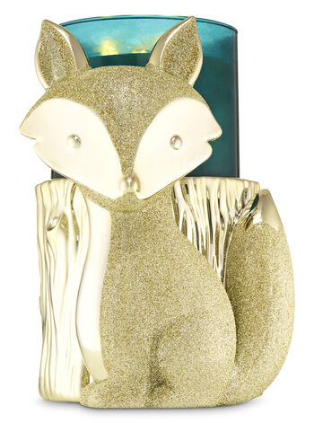 Fox Pedestal 3-Wick Candle Holder - Bath And Body Works