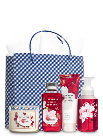 Japanese Cherry Blossom Ultimate Fragrance Fan Gift Kit - Bath And Body Works