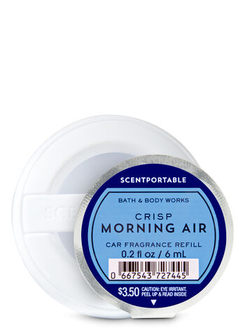 Crisp Morning Air Car Fragrance Refill - Bath And Body Works