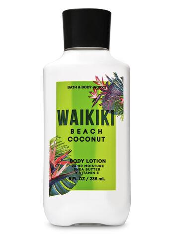 Waikiki Beach Coconut Super Smooth Body Lotion - Bath And Body Works