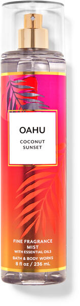 Oahu Coconut Sunset Fine Fragrance Mist