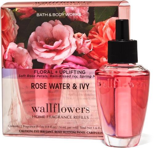 Rose Water & Ivy Wallflowers Refills 2-Pack