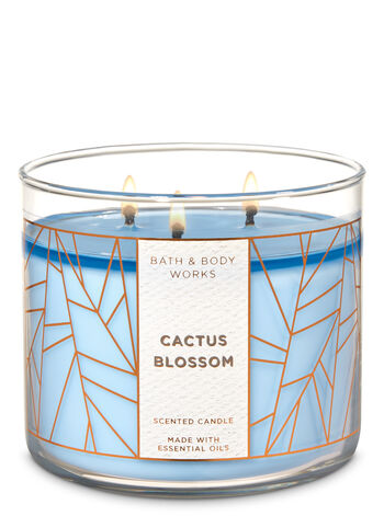Cactus Blossom 3-Wick Candle - Bath And Body Works