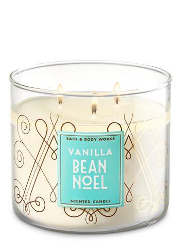 Vanilla Bean Noel 3-Wick Candle - Bath And Body Works