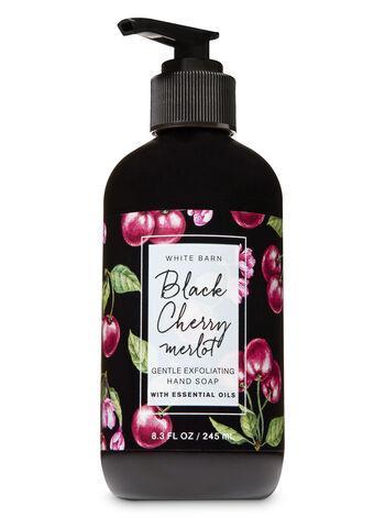 Black Cherry Merlot Gentle Exfoliating Hand Soap - Bath And Body Works