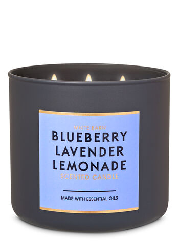 Blueberry Lavender Lemonade 3-Wick Candle - Bath And Body Works