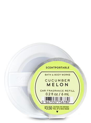Cucumber Melon Car Fragrance Refill - Bath And Body Works