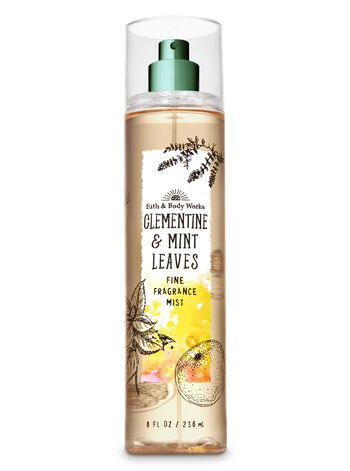 Signature Collection Clementine & Mint Leaves Fine Fragrance Mist - Bath And Body Works