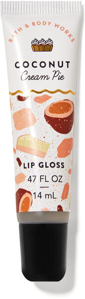 Coconut Cream Pie Lip Gloss