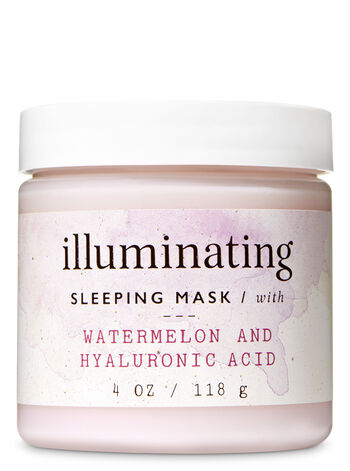 Illuminating with Watermelon & Hyaluronic Acid Sleeping Face Mask - Bath And Body Works