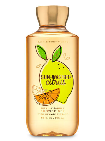 Sun-Washed Citrus Shower Gel - Bath And Body Works