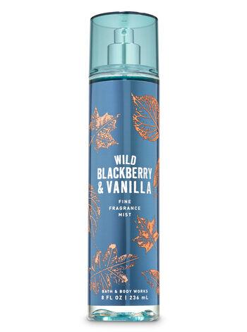 Wild Blackberry & Vanilla Fine Fragrance Mist - Bath And Body Works