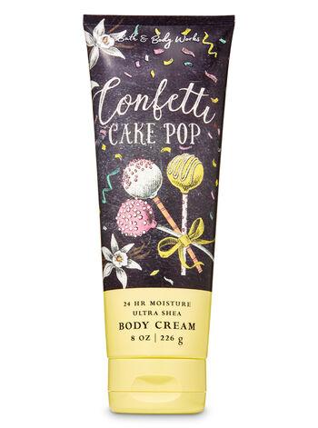 Confetti Cake Pop Ultra Shea Body Cream - Bath And Body Works