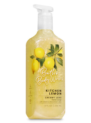 Kitchen Lemon Creamy Luxe Hand Soap - Bath And Body Works