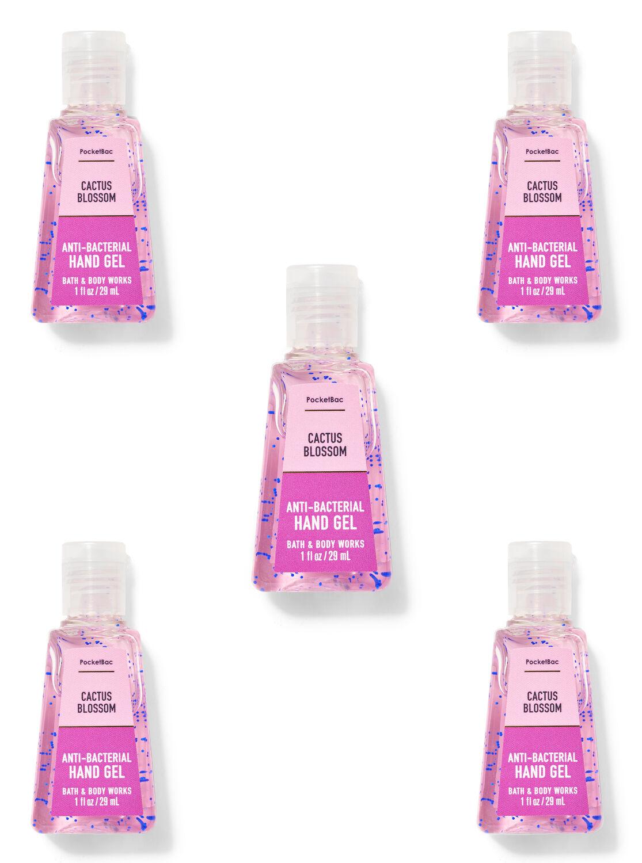 Cactus Blossom PocketBac Hand Sanitizer, 5-Pack