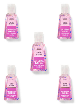 Cactus Blossom PocketBac Hand Sanitizer, 5-Pack