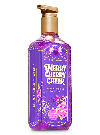 Merry Cherry Cheer Deep Cleansing Hand Soap - Bath And Body Works