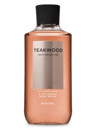 Teakwood 2-in-1 Hair + Body Wash