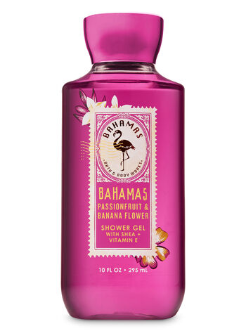 Signature Collection Pink Passionfruit & Banana Flower Shower Gel - Bath And Body Works