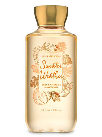 Sweater Weather   Shower Gel    by Bath & Body Works