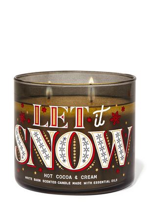 Hot Cocoa & Cream 3-Wick Candle