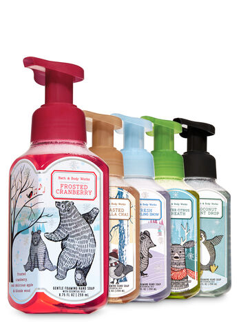 Nordic Noel Gentle Foaming Hand Soap, 5-Pack - Bath And Body Works