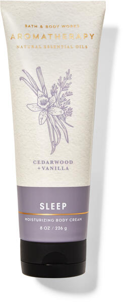 Cedarwood Vanilla Body Cream