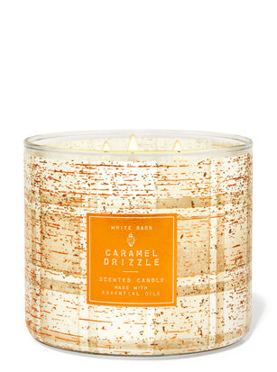 Caramel Drizzle 3-Wick Candle