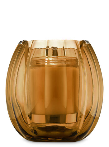 Amber Hurricane Single Wick Candle Holder - Bath And Body Works