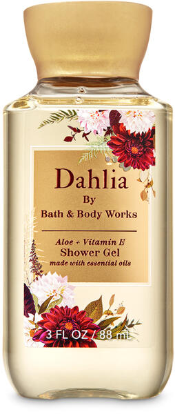 Dahlia Travel Size Shower Gel