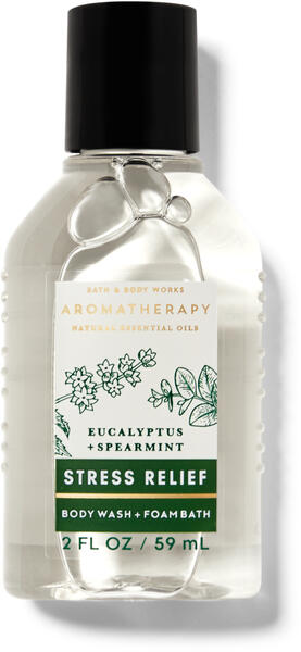 Eucalyptus Spearmint Travel Size Body Wash and Foam Bath