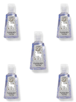Winter PocketBac Hand Sanitizer, 5-Pack